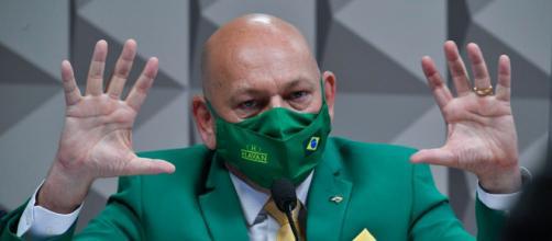 Luciano Hang depõe em CPI (Leopoldo Silva/Agência Senado)