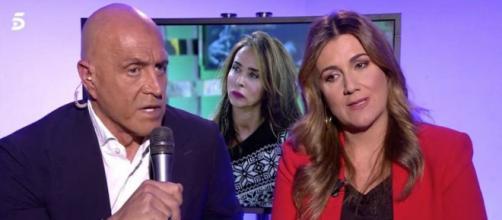 La relación entre Kiko Matamoros y Carlota Corredera pasa por uno de sus peores momentos (Telecinco)