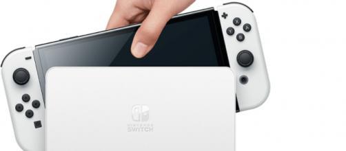 Nintendo Switch OLED (Image source: Pierre Lecourt/Flickr)