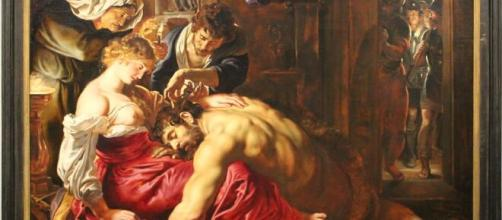 """""""Samson and Delilah,"""" by Peter Paul Rubens (Image source: Monopthalmos/Flickr)"""