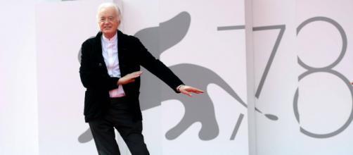 A Venezia 78 grande accoglienza per Jimmy Page e per il film dedicato alla storia dei Led Zeppelin.