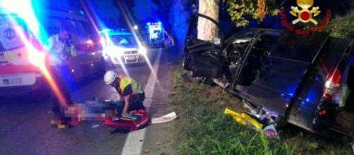 Grave incidente in Calabria: due morti e un ferito. (foto di repertorio)