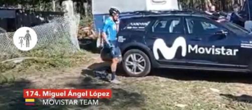 Il clamoroso ritiro di Miguel Angel Lopez nella penultima tappa della Vuelta Espana