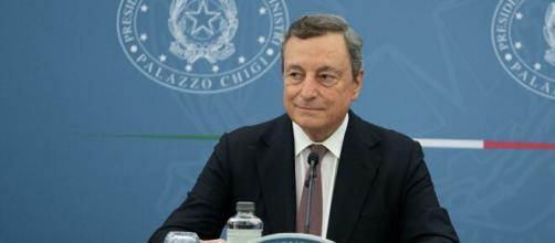 Mario Draghi, presidente del consiglio.