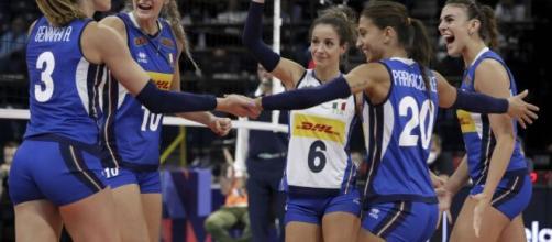 Volley donne, l'Italia batte 3-1 la Serbia e vince l'Europeo.