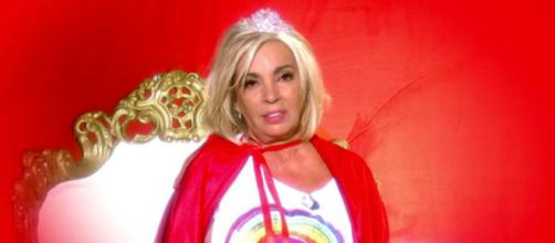 Carmen Borrego no se ha dejado nada en el tintero en su vuelta a 'Sálvame' (Telecinco)