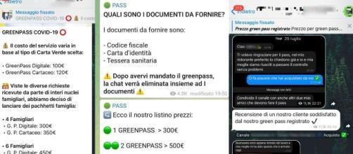 Chat No Vax: la procura di Torino ne ordina il sequestro, avverrà tuttavia con ritardo.