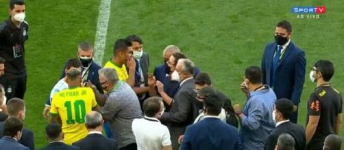 Le Brésil pourrait etre privé de Coupe du monde (capture SporTV)