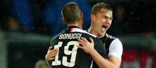 Napoli-Juventus, probabili formazioni: de Ligt-Bonucci al centro della difesa bianconera.