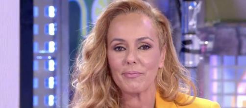 Rocío Carrasco en una de sus ultimas apariciones (Telecinco)