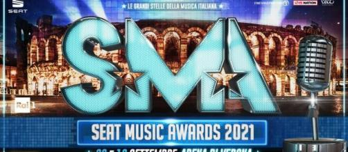 Seat Music Award 2021 all'Arena di Verona.