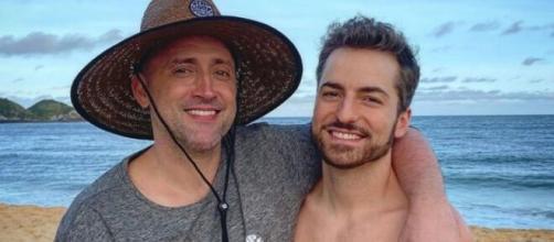 Thales Bretas e Paulo Gustavo são pais de dois filhos (Reprodução/Redes sociais)
