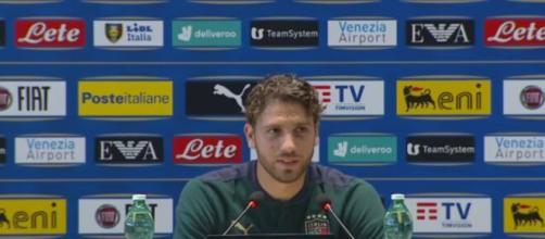 Manuel Locatelli, centrocampista della Juventus.
