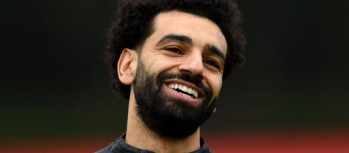 Mohamed Salah, punta del Liverpool.