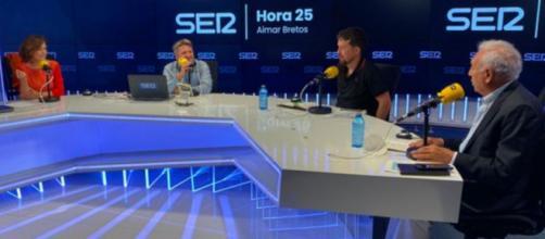 Pablo Iglesias ha dicho que cuando ve a Carmen Calvo le sale decirle 'vicepresidenta' (@hora25)