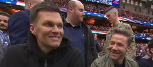 Brady, Edelman and Amendola became close friends during their stint with Patriots (Image source: ESPN/YouTube)