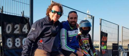 Jorge Lis fue subcampeón de motociclismo en España (Twitter; IgaxTeam)