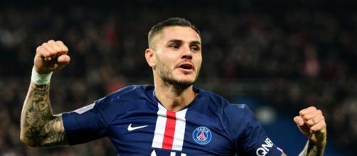 Mauro Icardi, punta del Paris Saint-Germain.