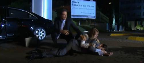 Nelson fica em estado grave (Reprodução/Televisa)