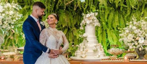 Viviane Araújo se casa com Guilherme Militão (Reprodução/Instagram/@araujoviviane)