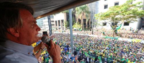 Bolsonaro participa de ato em São Paulo no 7 de Setembro (Isac Nóbrega/PR)