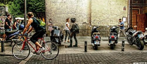 Imagen de la calle Malasaña en la que se habrían producido los hechos (Fuente: Flickr.es)