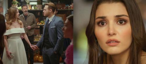 Love is in the air, spoiler turchi: Serkan chiede la mano di Selin davanti a Eda.