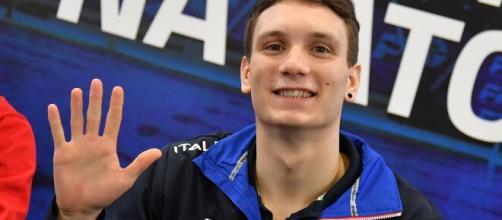 Manuel Bortuzzo, concorrente del Grande Fratello Vip.