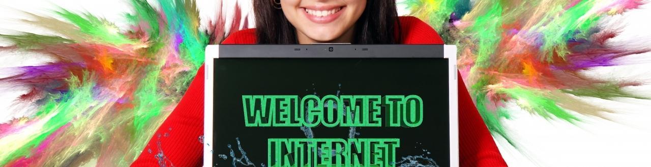 Todo lo que necesitas saber sobre internet. Un lugar en el que las posibilidades están abiertas al público, un lugar para todos.