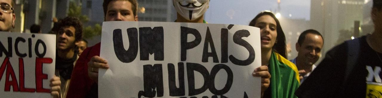 Inscreva-se e fique por dentro das manifestações que acontecem no Brasil e no mundo.