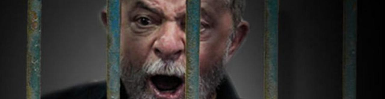 Luiz Inácio Lula da Silva, o primeiro ex-presidente preso por crime comum