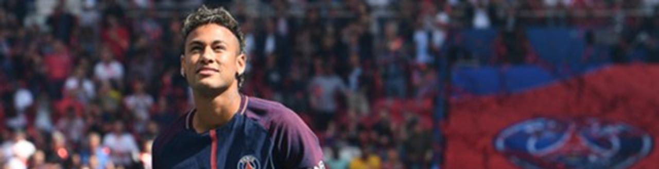 Neymar, uno de los mejores jugadores del mundo, el cual posee un talento sinigual