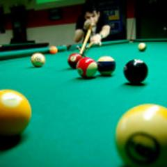 Snooker s a cue sport which originated among British Army officers stationed in India in the latter half of the 19th century.