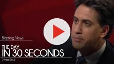 The day in 30 seconds - 24 April 2015