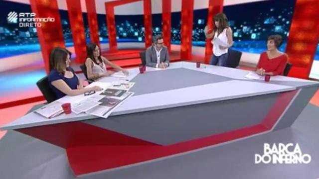 Manuela Moura Guedes discute com Isabel Moreira e deixa programa em direto