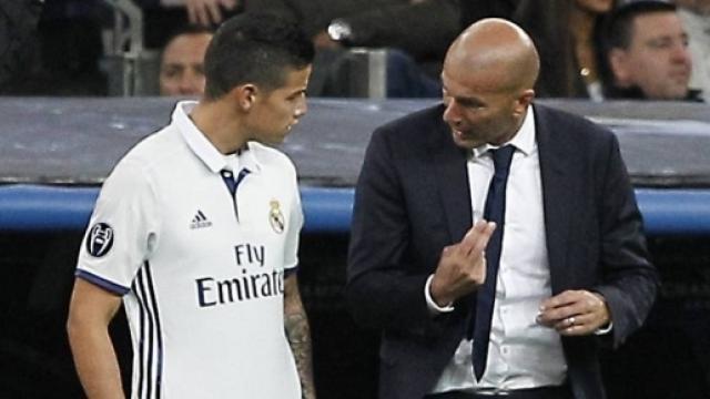 Real Madrid : Zidane lâche sa vérité sur le cas James Rodriguez ! [VIDEO]