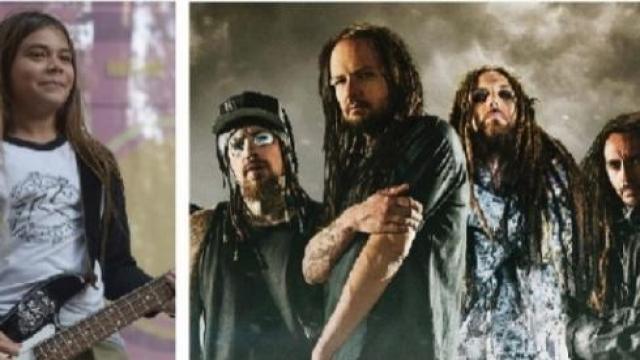 Video: Korn hará gira con hijo de Robert Trujillo, bajista de Metallica