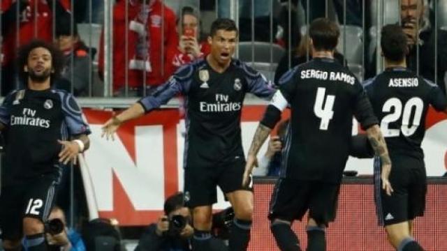 Video: El Madrid con su espíritu de Champions y CR7, hiere al Bayern en la ida de 4tos