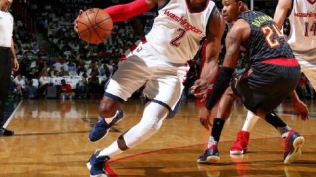 Video: NBA Playoffs: los Wizards arrancan con victoria la serie ante Atlanta