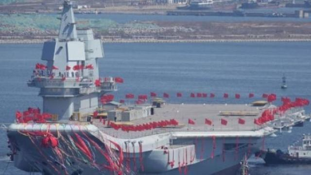 China launches its second indigenous aircraft carrier [VIDEO]