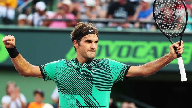 Wimbledon: Roger Federer à une marche du bonheur