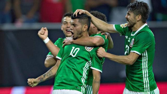 El duelo entre la Selección Mexicana de Futbol y su igual de Curazao