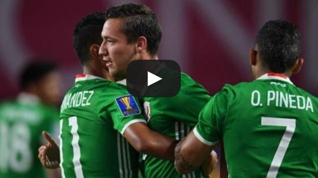 México vence 1-0 goles a la selección de Honduras