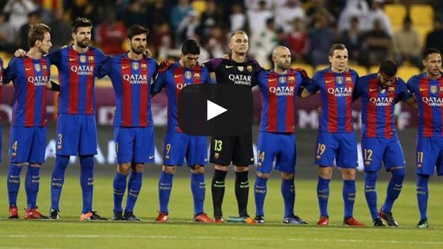 despedida de Lionel Messi a su amigo Neymar