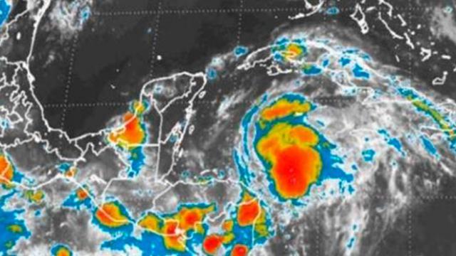 De depresión a tormenta pasa 'Franklin' en el Golfo de México