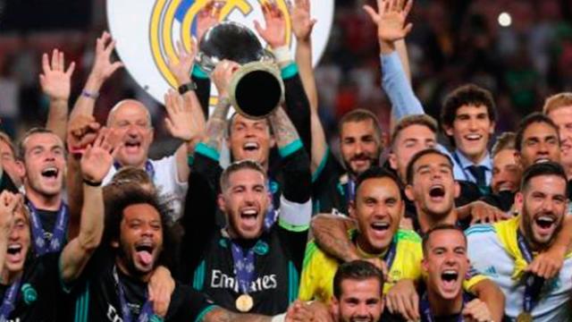 El Real Madrid derrota 2 a 1 al United y es el primer bicampeón UEFA SuperCup