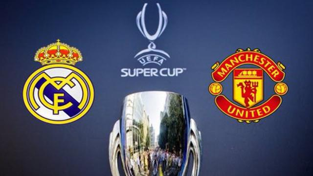 Manchester United vs Real Madrid por la Super Copa de Europa