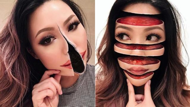 As ilusões ópticas dessa maquiadora vão te surpreender