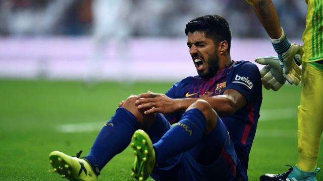 Messi se queda sin Suárez por un tiempo