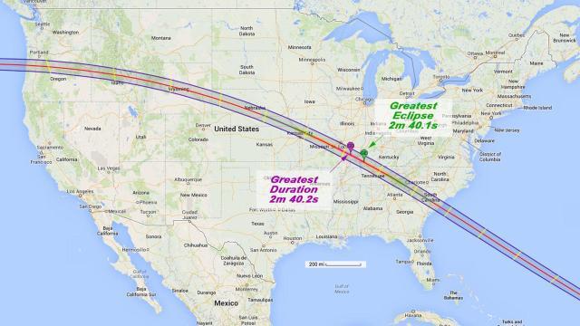 Te decimos dónde podrás disfrutar del eclipse con la protección adecuada